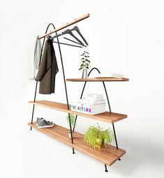 Product Design // Mountains by Mario Tsai, a shelving concept by ZZ Design Studio