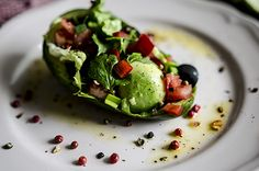 Avocado, cilantro, tomatoes salad recipe Tomato Salad Recipes, Cilantro, Avocado Toast, Lima, Tomatoes, Lunch, Breakfast, Food, Morning Coffee