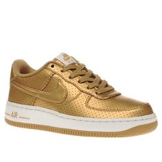 kids nike gold air force 1 lv8 unisex youth