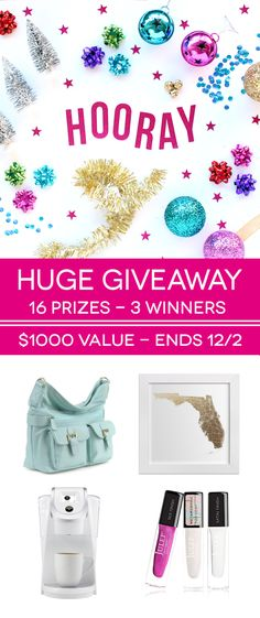 Huge Giveaway and Holiday Gift Guide - @linesacross