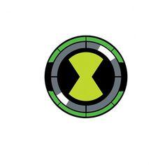 T shirt Omnitrix symbol white Ben 10 Cake, Ben 10 Birthday, Ben 10 Ultimate Alien, Ben 10 Alien Force, 10 Logo, Ben 10 Omniverse, Banner Background Images, Thanos Marvel, Cartoon Tattoos