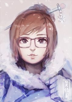 Mei is super cute! I have no consistency in style plz forgive. This was really fun to draw though! I love how Overwatch has such a diverse cast ; > Ahh me tooo Overwatch Video Game, Overwatch Mei, Overwatch Fan Art, Mei Ling Zhou, Character Art, Character Design, Otaku, Fanart, Game Art