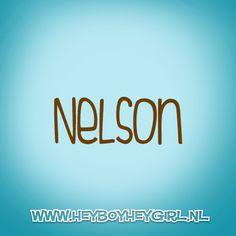 Nelson (Voor meer inspiratie, en unieke geboortekaartjes kijk op www.heyboyheygirl.nl)