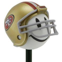 San Francisco 49ers Helmet Bottle Stopper