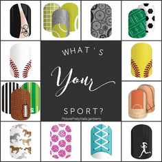 For all those sports lovers, Jamberry has some fun wraps to choose from.  ~Picture Pretty Nails~