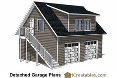 Best Apartment Garage Plans With Loft 1476 4 By Behm Design 400 x 300