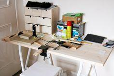 silversmithing workbench / workshop