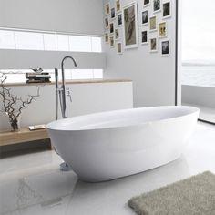 Henrietta 1800 x 840 Freestanding Acrylic Bath