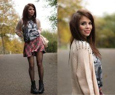 .SchoolGirl. (by Trishka .) http://lookbook.nu/look/4224005-SchoolGirl