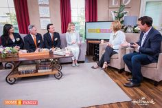PCH Prize Patrol on the set of Home and Family.....What's it like being part of Publisher Clearing House's Prize Patrol? We talk to Dave, Todd & @PCHDanielle TMRW!