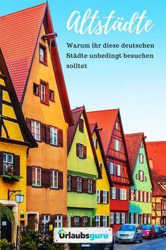 Deutschlands schönste Altstädte: Willkommen in Lübeck, Konstanz, Heidelberg, Rothenburg, Bamberg & Dinkelsbühl! Erfahrt, warum diese Städte immer eine Reise wert sind! #deutschland #urlaub #konstanz #lübeck #heimat #altstadt