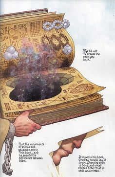 The Book of Destiny, by Frank Quitely.