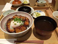 Lunch Rice bowl Miso-Katsudon