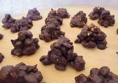 Πικάντικα σοκολατάκια-βραχάκια #cookpadgreece