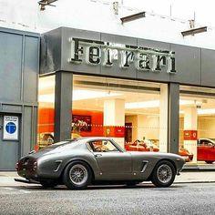 "1,545 Likes, 18 Comments - Valve & Piston (@valveandpiston) on Instagram: ""Things you will no longer find in a Ferrari dealership. | Ferrari 250 SWB. PC: @classicroadatelier"""
