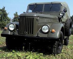 GAZ-69 jeep