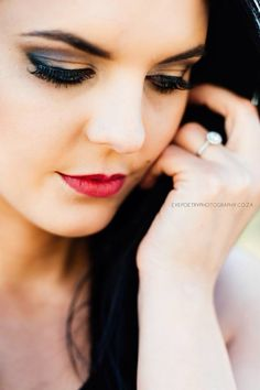 A beautiful close up photo from a recent engagement shoot in Bloemfontein, South Africa
