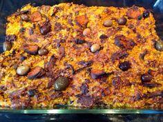 """Patrícia is cooking.: Arroz de """"SEM pato"""" no forno {Vegan, integral}"""