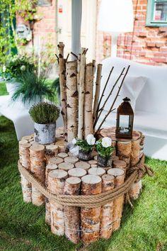 Sehe Dir Das Foto Von Crea Mit Dem Titel Coole Idee Für Einen Selbst  Gemachten Gartentisch