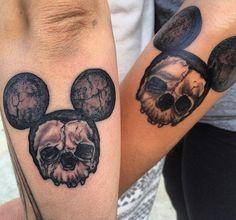 Mickey skulls