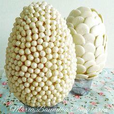 White Chocolate Easter Eggs