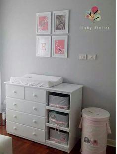Mueble cambiador para beb s habitaci n para beb s for Mueble cambiador ikea