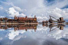 Bolivie - train cimetary - Photo Joël Santos