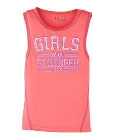 Look at this Brilliance 'Girls Are Stronger' Tank - Infant, Toddler
