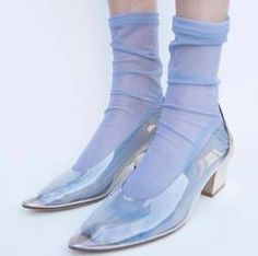 Tumblr is a place to express yourself, discover yourself, and bond over the stuff you love. It's where your interests connect you with your people. Mesh Socks, Cinderella Shoes, Aesthetic Shoes, Socks And Heels, Unique Shoes, Tall Boots, Timeless Fashion, Rubber Rain Boots, Heeled Boots