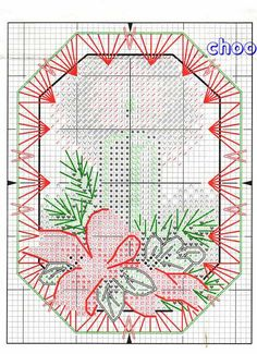 Ornamenti Natalizi 1p. What an awesome site for so many free cross stitch patterns!