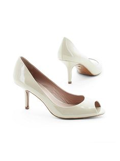 I usually don't like low heels, but these are too cute to pass up. Kitten Heel Pump by Charles David from Frederick's of Hollywood!