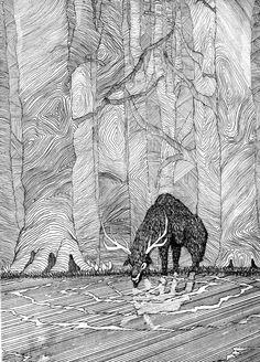 "Saatchi Online Artist: Andre Rain; Etching, 2011, Printmaking ""SOUL"""