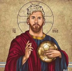 The God of Football messi Messi And Ronaldo, Cristiano Ronaldo, Messi 10, Messi Fans, Ronaldo Real, Meme Messi, Messi Logo, God Of Football, Football Is Life