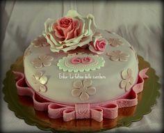 Torta 60 di compleanno di laura e roberto www for Decorazioni torte per 60 anni di matrimonio