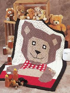 Teddy Bear Afghan