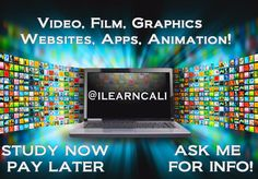 Do you like discovering new apps?   Do you enjoy video and film production?   This course will help you to develop the skills and knowledge you need to start your career into the world of Digital Media Technologies!  STUDY NOW PAY LATER!  ASK FOR A FREE INFO PACK NOW https://www.facebook.com/ilearncali/ #digitalmedia #career #websites #film #work #study #digital #IT #education #Webdesigner #Socialmedia