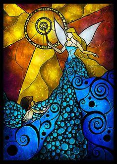 The Blue Fairy - Mandie Manzano