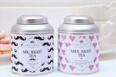 Love this!! Mr Right Mrs Right #tafelgut #tea