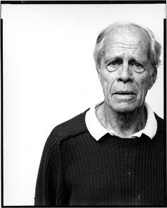 Cleve Gray (1918-2004) - American abstract expressionist painter. Photo by Richard Avedon