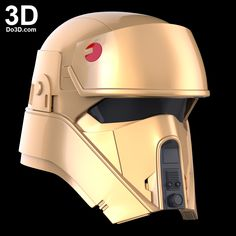 shoretrooper Helmet Rogue One Star Wars Story 3d printable model print file stl do3d-com