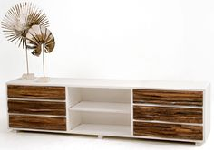 Urban Rustic Collection - Entertainment Center - Design #4 - Item #EC04733 - Custom Sizes and Layouts Available - We can make matching sideboards, coffee or end tables or whatever you may need.