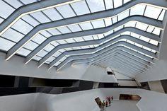 Eerste fase Afragola Station Napels door Zaha Hadid opgeleverd - De Architect