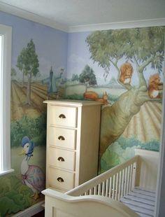 Baby's Nursery Mural