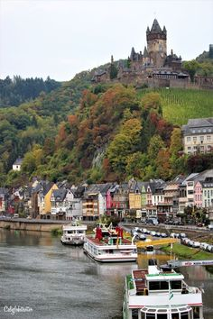 Cochem and the Reichsburg Castle, Germany