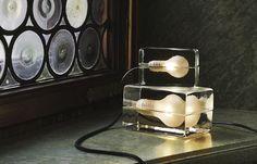 7 a week – första helgen i mars (Living by W) Lamp Design, Lighting Design, Institute Of Design, Glass Blocks, Design Awards, Scandinavian Design, Home Interior Design, Light Fixtures, Candle Holders