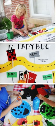 Ladybug games and cr