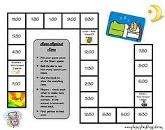 free time gameboard for you!