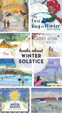 19 Winter Solstice Books For Kids — Boston Mamas - Winter solstice books for kids to read. Winter Crafts For Kids, Winter Kids, Kids Crafts, Winter Activities, Activities For Kids, Educational Activities, Hello Winter, Winter Trees, Christmas Books