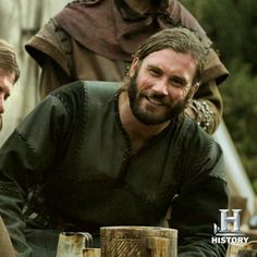 Rollo Lotbrok--brother to Ragnar on Vikings          History channel