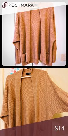 Ana oversized Cardigan Guc! Very stylish! Great with skinny jeans! Size xL. Smoke and pet free a.n.a Sweaters Shrugs & Ponchos